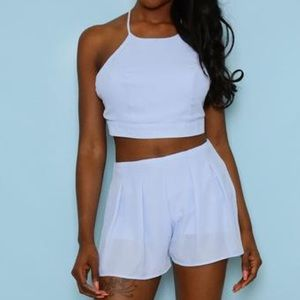Fashion Nova Baby Blue Set
